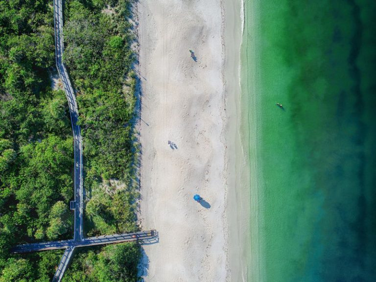 aerial beach surveying and mapping